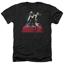 Forbidden Planet - Mens Robby And Woman Heather T-Shirt