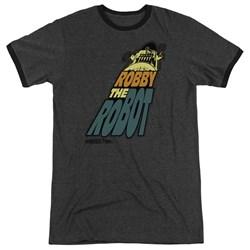 Forbidden Planet - Mens Robby The Robot Ringer T-Shirt