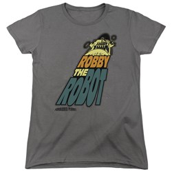 Forbidden Planet - Womens Robby The Robot T-Shirt