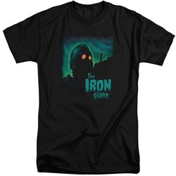 Iron Giant - Mens Look To The Stars Tall T-Shirt