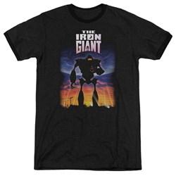 Iron Giant - Mens Poster Ringer T-Shirt