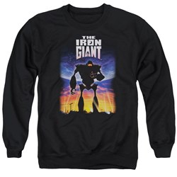 Iron Giant - Mens Poster Sweater