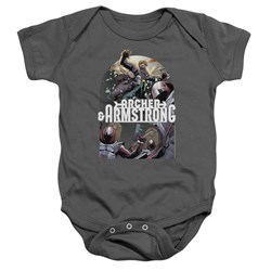 Archer & Armstrong - Toddler Dropping In Onesie