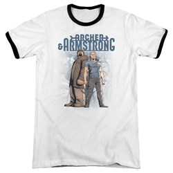 Archer & Armstrong - Mens Two Against All Ringer T-Shirt