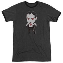 Bloodshot - Mens Chibi Ringer T-Shirt