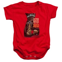 Doctor Mirage - Toddler Talks To The Dead Onesie