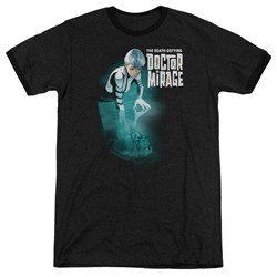 Doctor Mirage - Mens Crossing Over Ringer T-Shirt