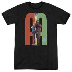Archer & Armstrong - Mens Back To Bak Ringer T-Shirt