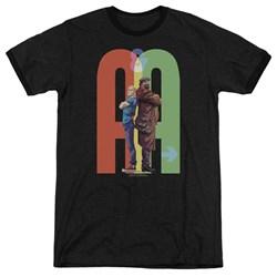 Archer & Armstrong - Mens Back To Bak Ringer T-Shirt