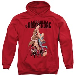 Archer & Armstrong - Mens Hang In There Pullover Hoodie