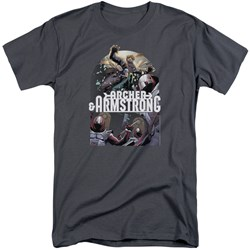 Archer & Armstrong - Mens Dropping In Tall T-Shirt