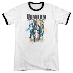 Quantum And Woody - Mens Quantum And Woody Ringer T-Shirt