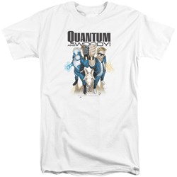 Quantum And Woody - Mens Quantum And Woody Tall T-Shirt