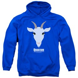 Quantum And Woody - Mens Goat Head Pullover Hoodie