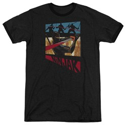 Ninjak - Mens Panel Ringer T-Shirt