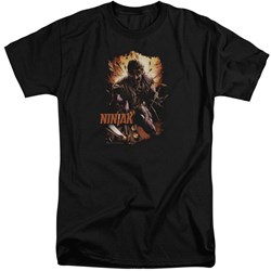 Ninjak - Mens Fiery Ninjak Tall T-Shirt