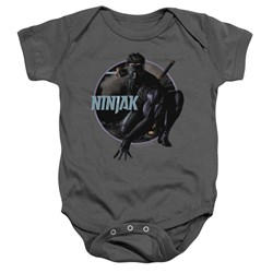 Ninjak - Toddler Crouching Ninjak Onesie