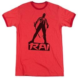 Rai - Mens Silhouette Ringer T-Shirt