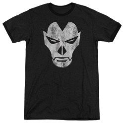 Shadowman - Mens Face Ringer T-Shirt