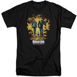 Quantum And Woody - Mens Explosion Tall T-Shirt
