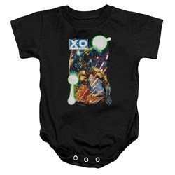 Xo Manowar - Toddler Vintage Xo Onesie