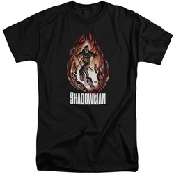Shadowman - Mens Burst Tall T-Shirt