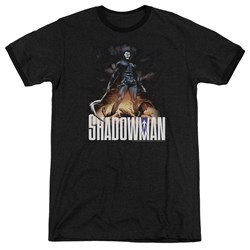 Shadowman - Mens Shadow Victory Ringer T-Shirt