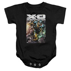 Xo Manowar - Toddler Pit Onesie