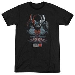 Bloodshot - Mens Blood Lines Ringer T-Shirt