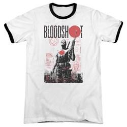 Bloodshot - Mens Death By Tech Ringer T-Shirt