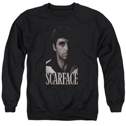 Scarface - Mens B&W Tony Sweater
