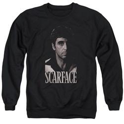 Scarface - Mens B&W Tony Sweater
