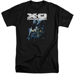Xo Manowar - Mens By The Sword Tall T-Shirt