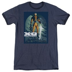 Xo Manowar - Mens Planet Death Ringer T-Shirt