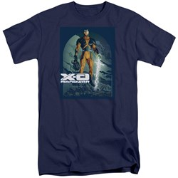 Xo Manowar - Mens Planet Death Tall T-Shirt