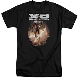 Xo Manowar - Mens Lightning Sword Tall T-Shirt