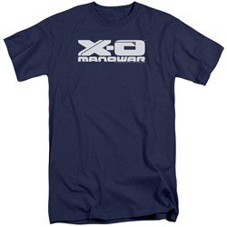 Xo Manowar - Mens Logo Tall T-Shirt