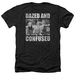 Dazed And Confused - Mens Rock On Heather T-Shirt