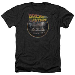 Back To The Future - Mens Back Heather T-Shirt