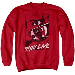 They Live - Mens Graphic Poster Sweater