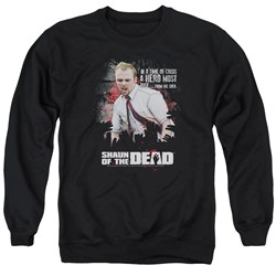 Shaun Of The Dead - Mens Hero Must Rise Sweater