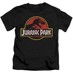Jurassic Park - Little Boys Classic Logo T-Shirt