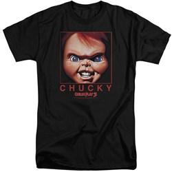 Childs Play - Mens Chucky Squared Tall T-Shirt