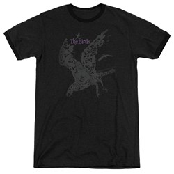 Birds - Mens Poster Ringer T-Shirt