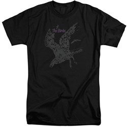 Birds - Mens Poster Tall T-Shirt
