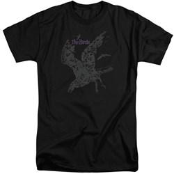 Birds - Mens Poster Tall T-Shirt