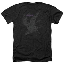 Birds - Mens Poster Heather T-Shirt