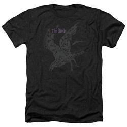 Birds - Mens Poster Heather T-Shirt