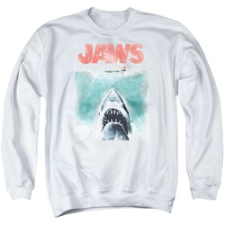 Jaws - Mens Vintage Poster Sweater