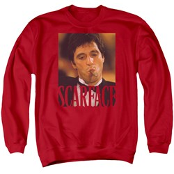 Scarface - Mens Smoking Cigar Sweater